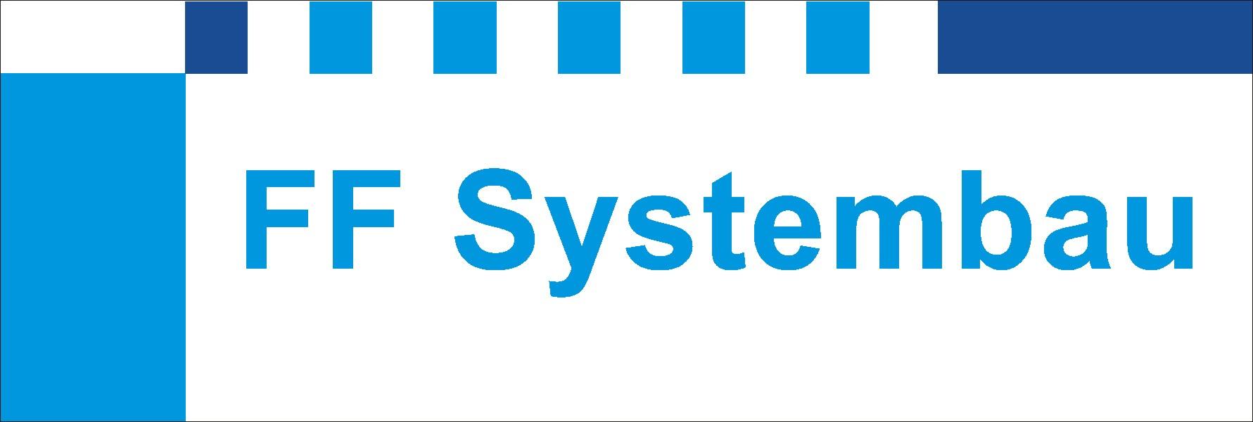 Logo FF Systembau 45 x15 cm